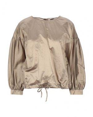 Блузка HACHE. Цвет: серый