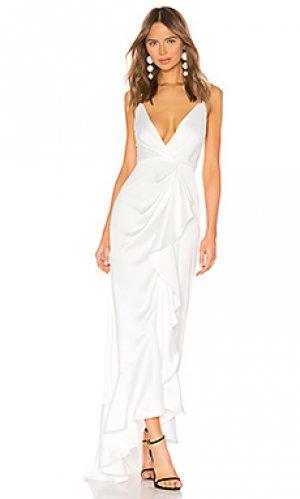 Вечернее платье elsie Jay Godfrey. Цвет: белый