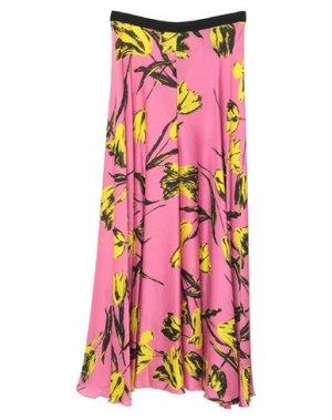 Повседневные брюки HANITA. Цвет: розовый