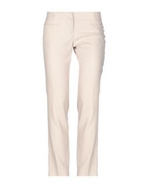 Повседневные брюки DIVINA. Цвет: бежевый