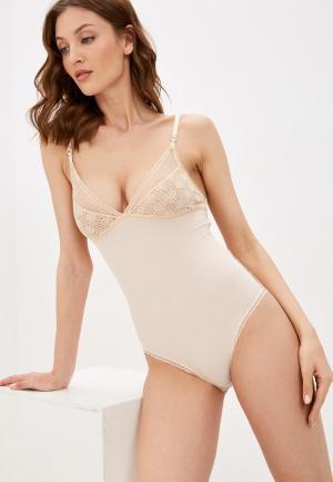 Боди Stella McCartney Underwear AMBER IMAGINING. Цвет: бежевый