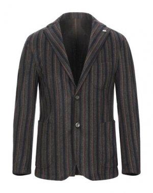 Пиджак BARBATI. Цвет: коричневый