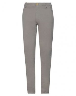 Повседневные брюки BLEND. Цвет: серый