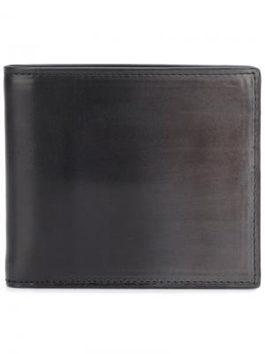 Складной бумажник Boudin Officine Creative. Цвет: серый