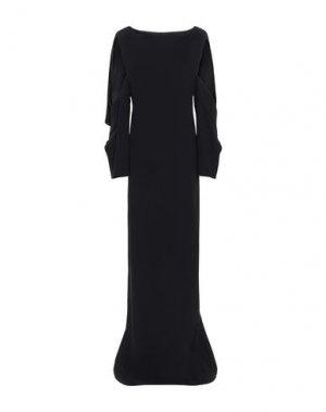 Длинное платье CHALAYAN. Цвет: черный