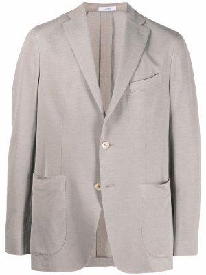 Однобортный пиджак Boglioli. Цвет: нейтральные цвета