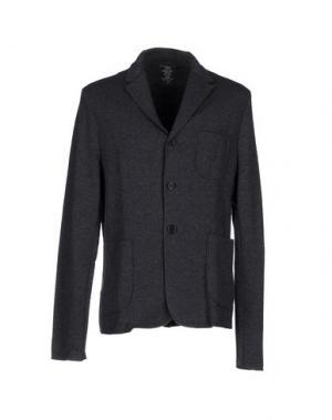 Пиджак MAJESTIC. Цвет: серый