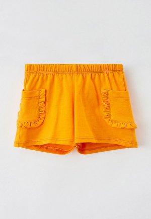 Шорты спортивные United Colors of Benetton. Цвет: оранжевый