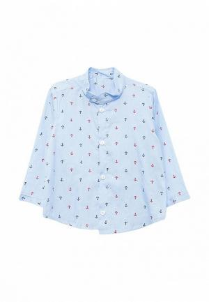 Рубашка Frizzzy MP002XB001UU. Цвет: голубой