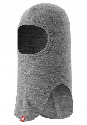 Шапка-шлем, базовый слой Aurora Серая Reima. Цвет: серый