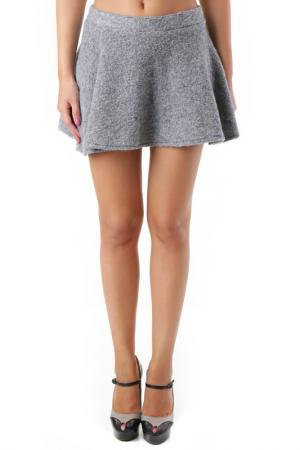 Skirt 525. Цвет: серый