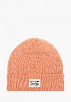 Шапка Burton KACTSBNCH TALL. Цвет: оранжевый