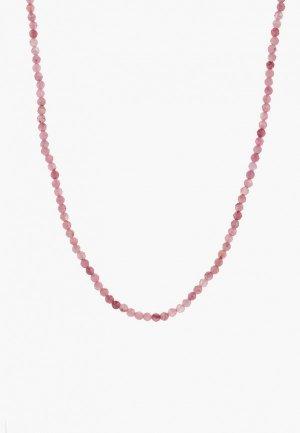 Бусы Something Special Lifestyle Jewelry. Цвет: розовый