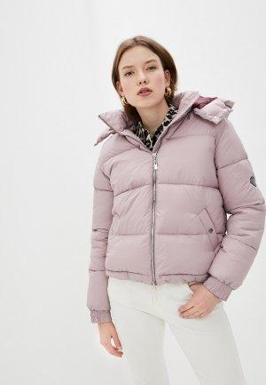 Куртка утепленная Marinari. Цвет: розовый