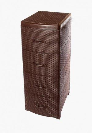 Органайзер для хранения Violet. Цвет: коричневый