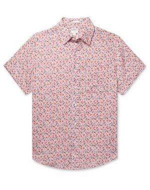 Pубашка J.CREW. Цвет: розовый