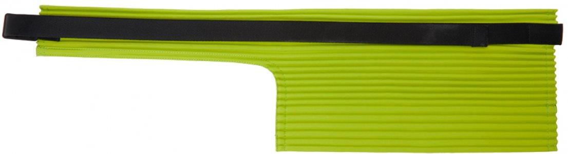 Green Pleats Waist Bag Homme Plissé Issey Miyake. Цвет: 61 lime green