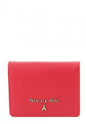 Визитница PATRIZIA PEPE. Цвет: красный