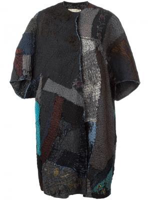 Пальто Repath By Walid. Цвет: синий