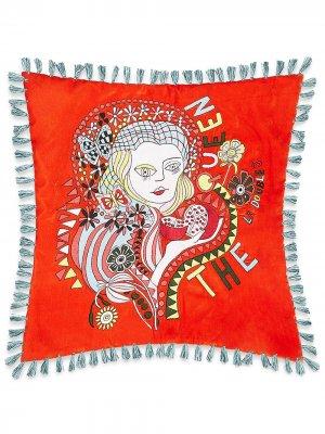 Подушка Persephone La Doublej. Цвет: красный