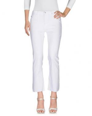 Джинсовые брюки AG JEANS. Цвет: белый