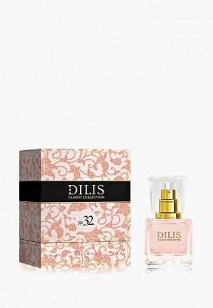 Духи Dilis Parfum Classic Collection № 32, 30 мл. Цвет: прозрачный