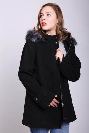 Пальто Just Valeri. Цвет: чёрный
