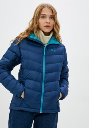 Куртка утепленная Jack Wolfskin HELIUM WOMEN. Цвет: синий