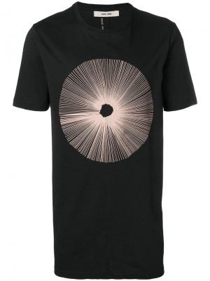 Длинная футболка с принтом Damir Doma. Цвет: черный