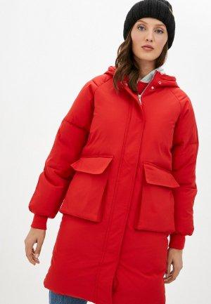 Куртка утепленная Liana. Цвет: красный