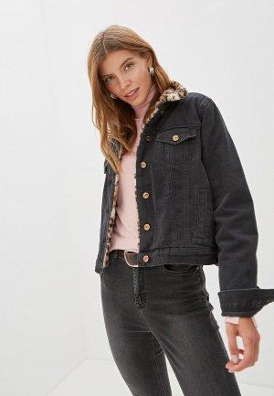 Куртка джинсовая Colins Colin's. Цвет: серый