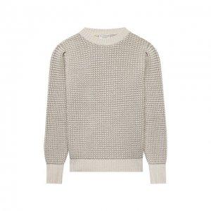 Пуловер Brunello Cucinelli. Цвет: золотой
