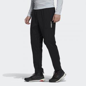 Брюки Terrex Multi Primegreen adidas. Цвет: черный
