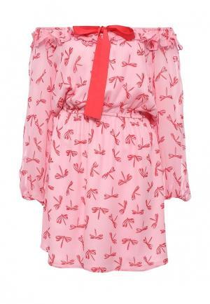 Платье Atos Lombardini AT009EWPBZ43. Цвет: розовый