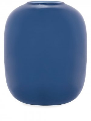 Ваза Arya закругленной формы (220 х 180 мм) Cappellini. Цвет: синий