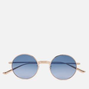 Солнцезащитные очки  Row After Midnight Oliver Peoples. Цвет: золотой