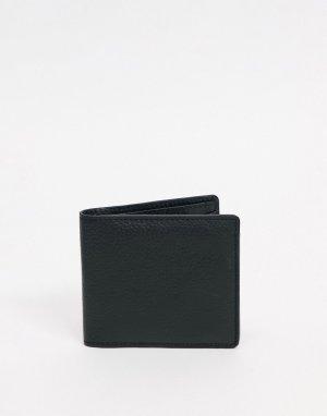 Кожаный бумажник -Черный цвет Urbancode