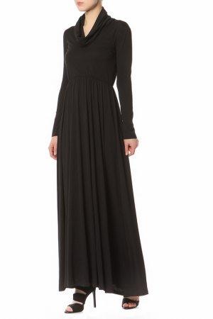 Платье хомут ALEXANDRAKAZAKOVA. Цвет: черный