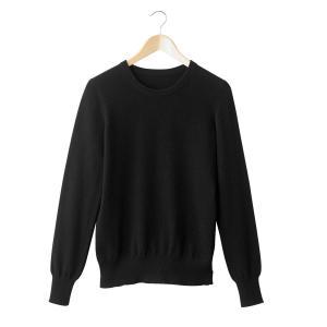 Пуловер с круглым вырезом, 100% кашемира La Redoute Collections. Цвет: серый меланж