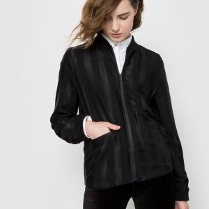 Куртка-бомбер LA REDOUTE COLLECTIONS. Цвет: черный