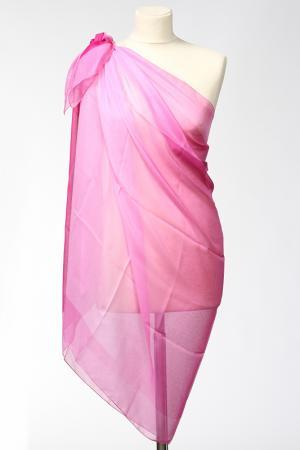 Парео F.FRANTELLI. Цвет: розовый, фуксия