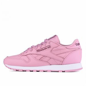 Classic Leather Reebok. Цвет: розовый