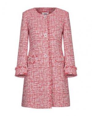 Легкое пальто VDP COLLECTION. Цвет: красный