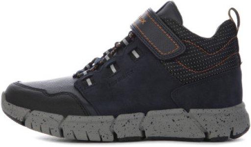 Ботинки утепленные детские Flexyper, размер 38 Geox. Цвет: черный