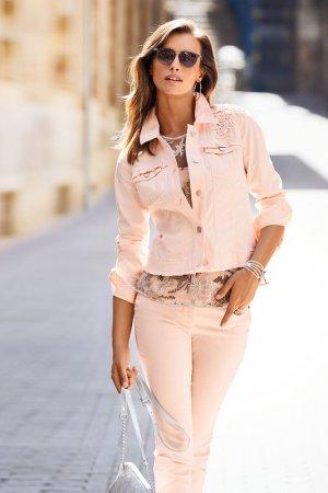 Куртка джинсовая Madeleine. Цвет: puderrose