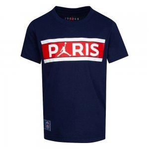 Paris Saint-Germain Bars Tee Jordan. Цвет: темно-синий