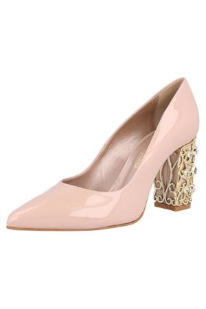 Туфли EL Dantes. Цвет: pink