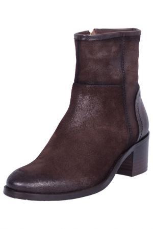 Ботинки ROBERTO BOTELLA. Цвет: dark brown