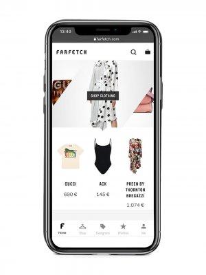 Чехол для iPhone 12 Maison Margiela. Цвет: черный