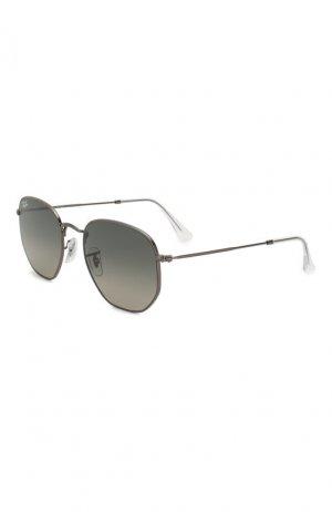 Солнцезащитные очки Ray-Ban. Цвет: серый